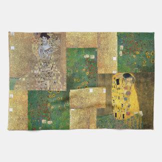 Klassische Kunst Klimt Malerei Handtuch