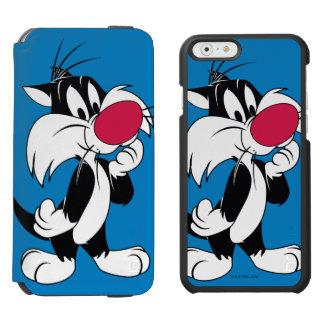 Klassische Pose Sylvester jr. | Incipio Watson™ iPhone 6 Geldbörsen Hülle