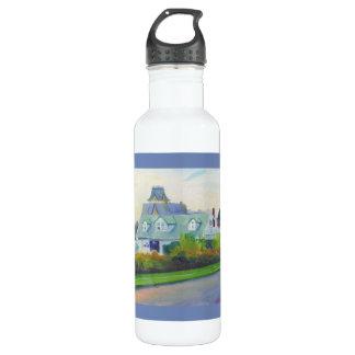 Klassische Spring See-Wasser-Flasche Edelstahlflasche