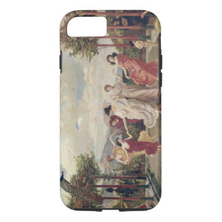 Klassischer Idyll (Öl auf Leinwand) iPhone 8/7 Hülle