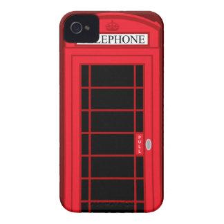 Klassischer roter Münzfernsprecher Großbritannien: iPhone 4 Case-Mate Hülle