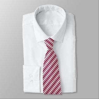 Klassischer Zuckerstange-Streifen Personalisierte Krawatte
