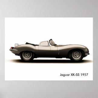 Klassisches Autobild für Plakat