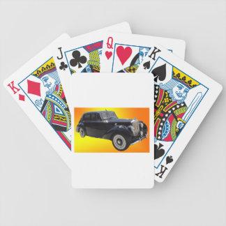 Klassisches Bentley Bicycle Spielkarten