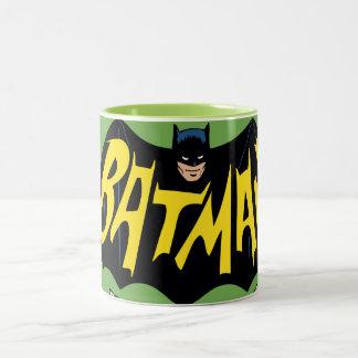 Klassisches Fernsehserie-Logo Batmans Zweifarbige Tasse