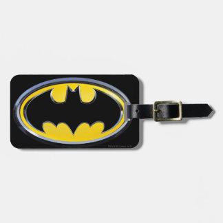 Klassisches Logo Batman-Symbol-| Gepäckanhänger