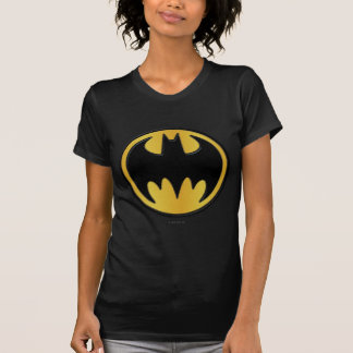 Klassisches rundes Logo Batman-Symbol-| T-Shirt