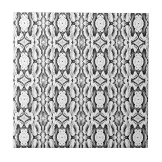 Klassisches weißes Spitze-Muster Kleine Quadratische Fliese