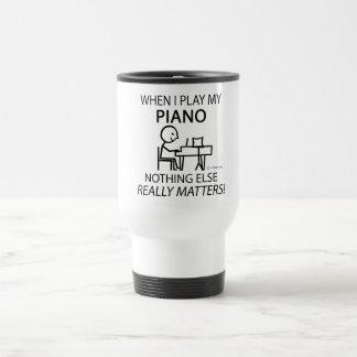Klavier nichts anderes ist von Bedeutung Edelstahl Thermotasse