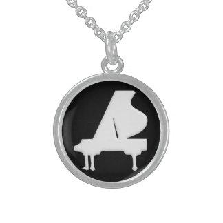 Klavier Sterling Silberkette