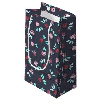 Klee-Blumen-kleine glatte Geschenk-Tasche Kleine Geschenktüte