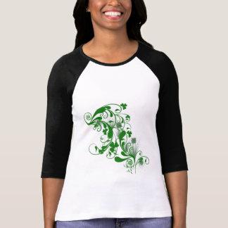 Kleeblatt-St Patrick TagesShirt T-Shirt