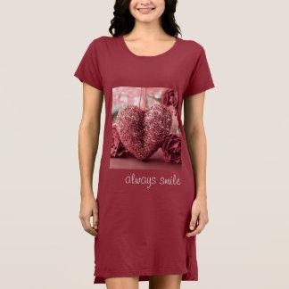 Kleid t-shirt von Alternative Apparel für Frauen