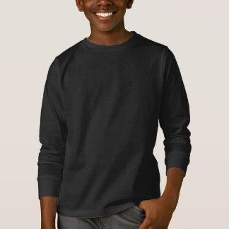Kleiderdunkelheit nur irgendeine Kinderrückseite T-Shirt