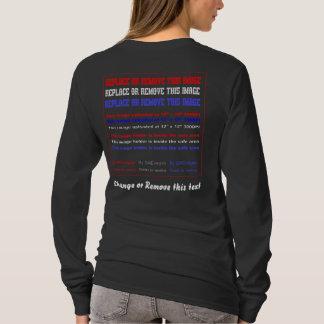 Kleiderdunkelheits-nur Frauen unterstützen T-Shirt