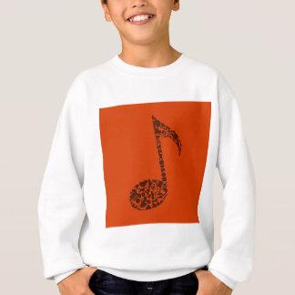 Kleidet die Anmerkung Sweatshirt