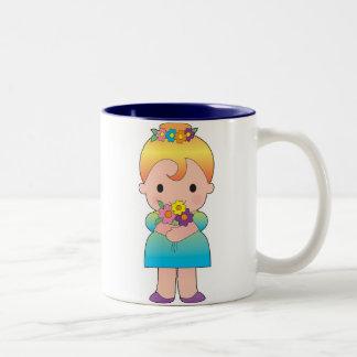 Kleine Brautjungfer Zweifarbige Tasse
