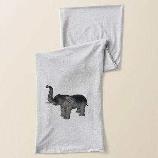 Kleine graue Elefanten Schal