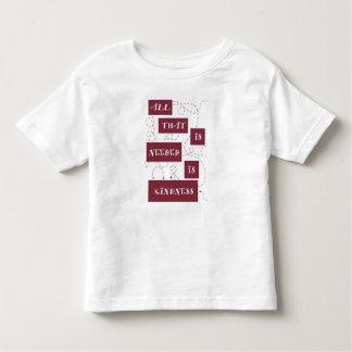 Kleine Güte Kleinkinder T-shirt