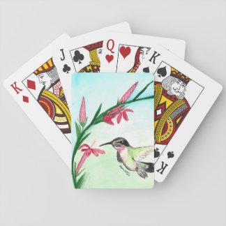 Kleine Kolibri Palying Karten Spielkarte