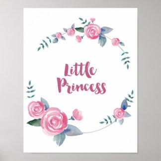 Kleine Prinzessin Quote Poster