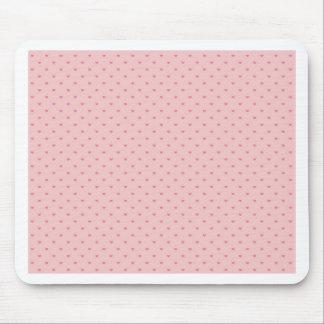 Kleine rosa Herzen Mousepad