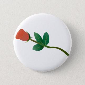 Kleine Rose Runder Button 5,7 Cm
