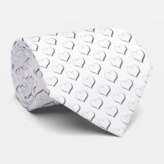 Kleine Tupfen-Herzen Individuelle Krawatte