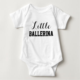 Kleiner Ballerina-Baby-Jersey-Bodysuit Baby Strampler