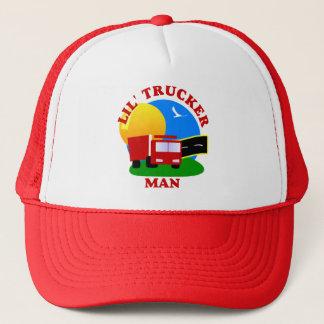 Kleiner Fernlastfahrer-Mann-Hut Truckerkappe