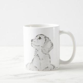 kleiner Hund Tasse
