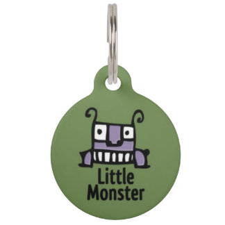 Kleiner Monster-Haustier Identifikations-Umbau Haustiermarke