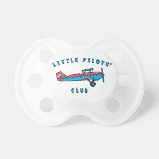Kleiner Pilotverein-Schnuller Baby Schnuller