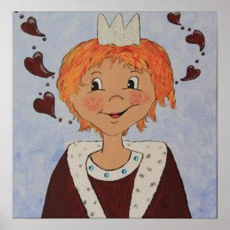 Kleiner Prinz Poster