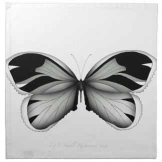 Kleiner Richmond-Salbei-Schmetterling Stoffserviette