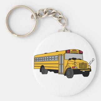 Kleiner Schulbus Schlüsselanhänger