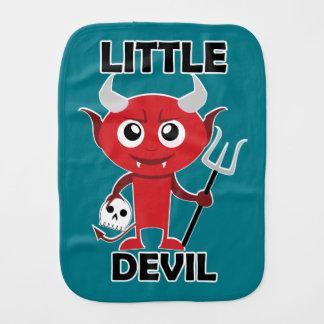 Kleiner Teufel - Burp-Stoff  Baby Spucktuch
