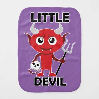 Kleiner Teufel - Burp-Stoff  Spucktuch