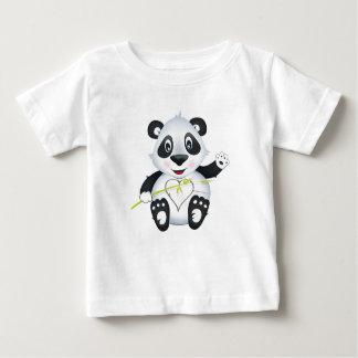 """Kleines Baby-Liebe-Siegel-"" Panda-Charakter-T - Baby T-shirt"