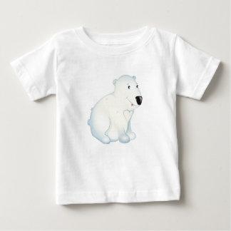 """""""Kleines Baby-Liebe-Siegel-"""" polarer Bärn-T - Baby T-shirt"""