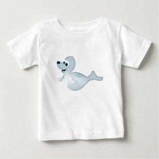 """""""Kleines Baby-Liebe-Siegel-"""" Siegel-Charakter-T - Baby T-shirt"""