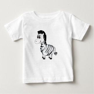 """""""Kleines Baby-Liebe-Siegel"""" Zebra-Charakter-T - Baby T-shirt"""
