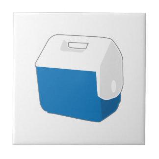 Kleines blaues cooleres keramikfliese