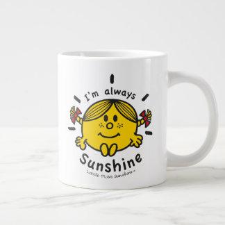 Kleines Fräulein Sunshine | bin ich immer Jumbo-Tasse