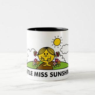 Kleines Fräulein Sunshine | zurück zu Natur Zweifarbige Tasse