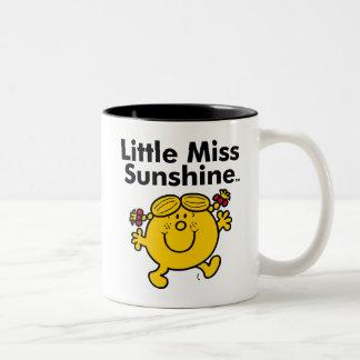Kleines kleines Fräulein Sunshine Fräulein-| ist Zweifarbige Tasse