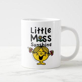Kleines kleines Fräulein Sunshine Laughs Jumbo-Tasse