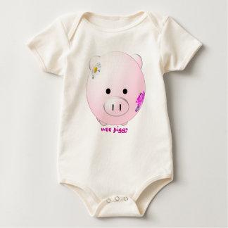Kleines Piggy Strampelanzug