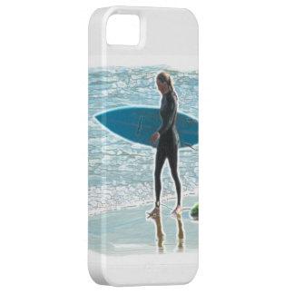 Kleines Surfer-Mädchen iPhone 5 Etui