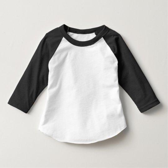 3/4-Raglanshirt für Kleinkinder von American Apparel